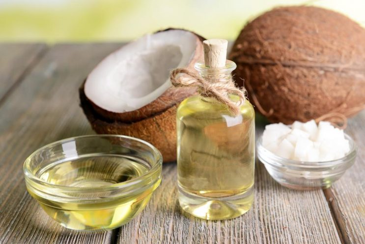 how to get coconut out of hair