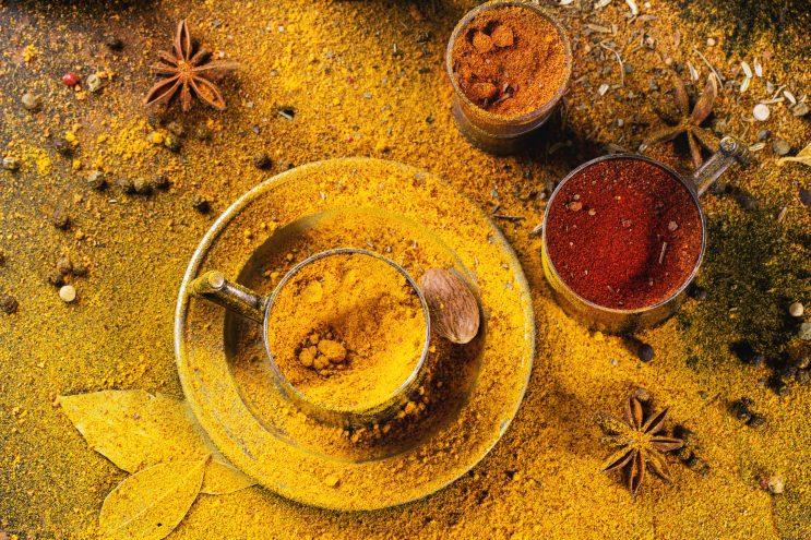 tumeric essential oils for scars