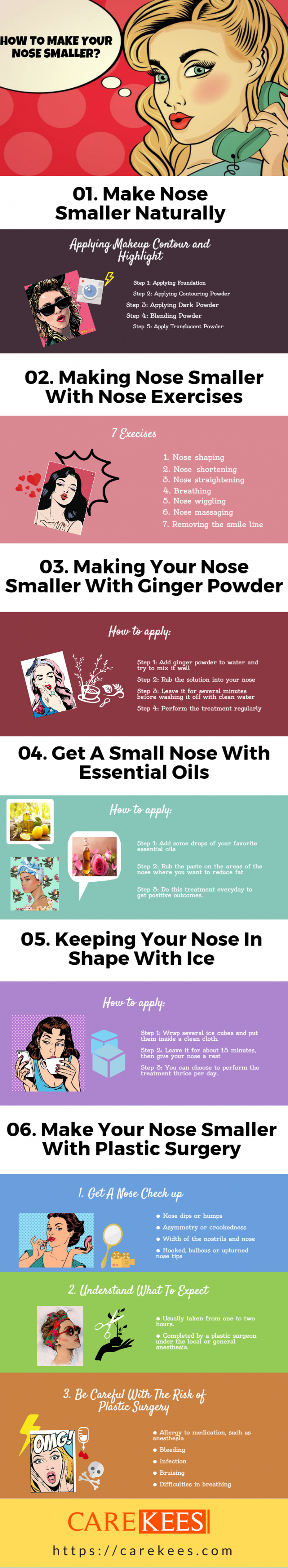 how to make your nose smaller 2