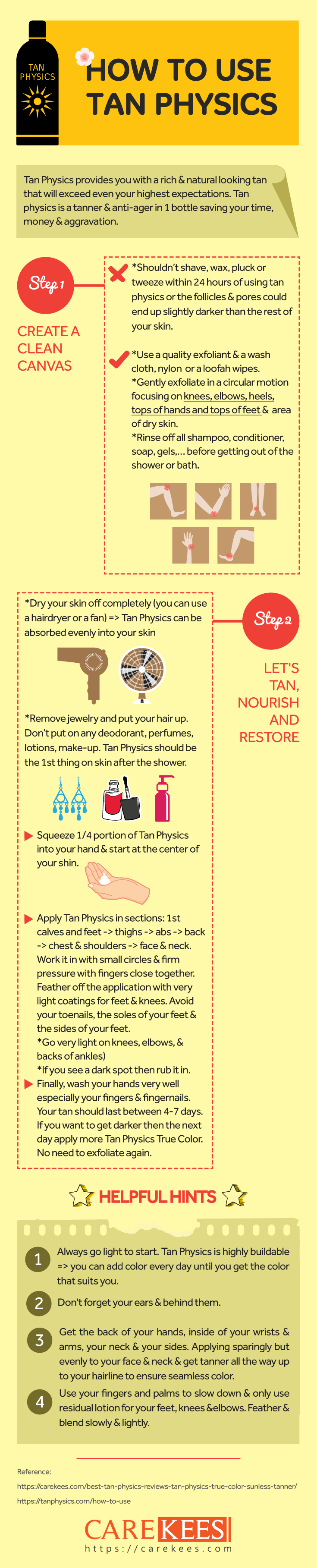 how to use tan physics