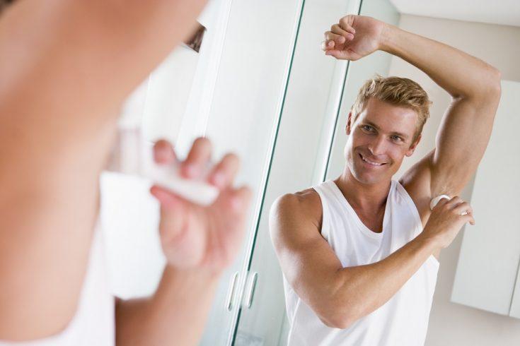 the proper amount of deodorant