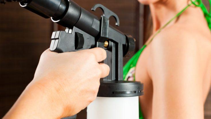 spray tanning becomes popular