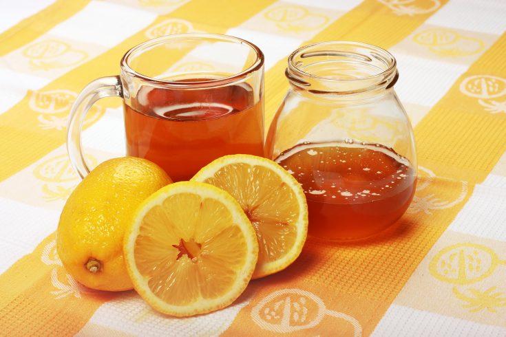 Honey with Tea and Lemons