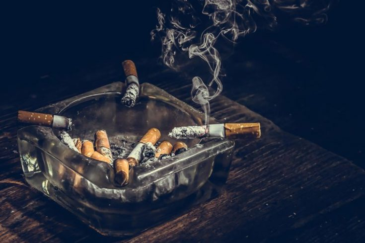 Nicotine is a nitrogen-containing chemical, called alkaloid