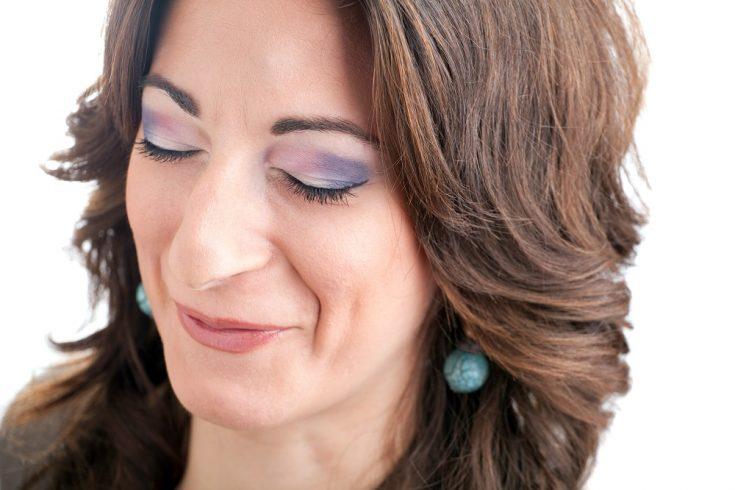 Dimple makeup