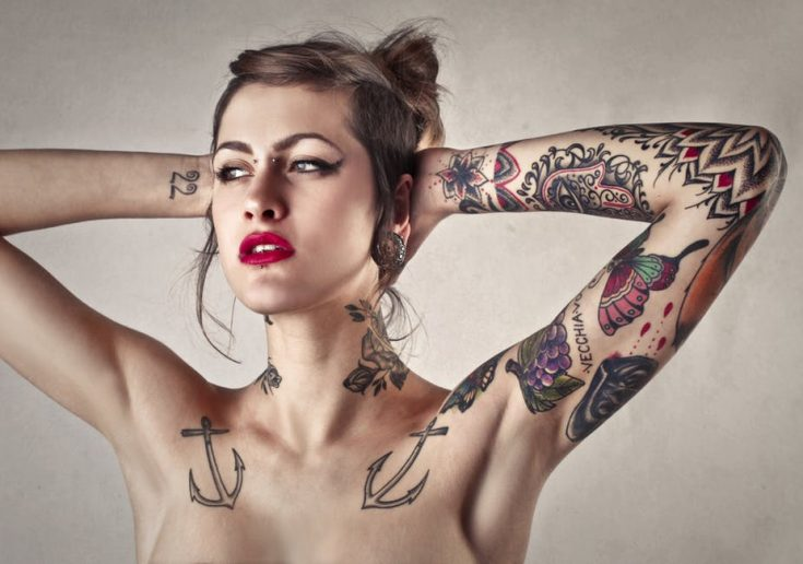 Tattoo healing time depends on many factors