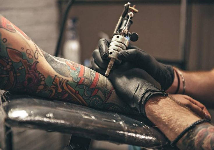 Stop drinking after a new tattoo