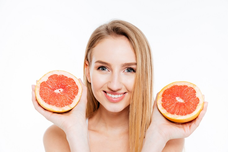 grapefruit inhibits cotinine formation