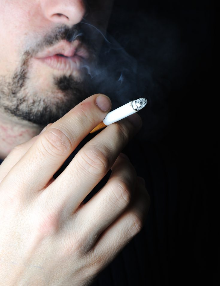 test nicotine from secondhand smoke in your body