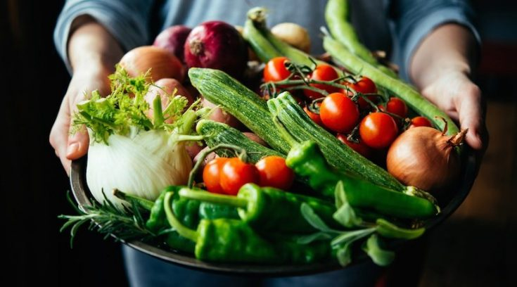 eat much more vegetables