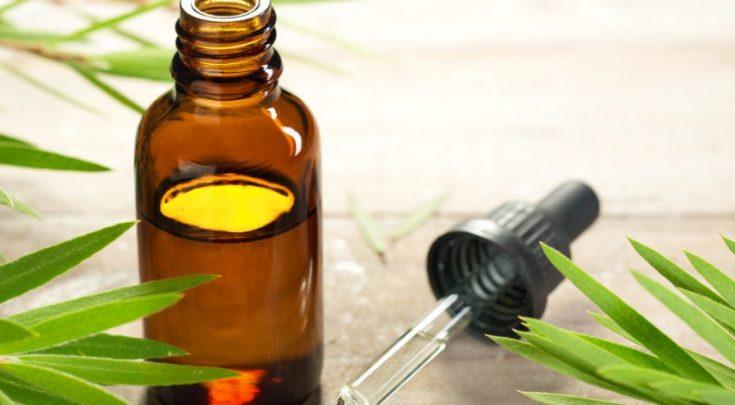 Tea tree oil for ingrown facial hair