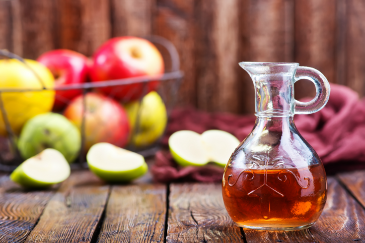 Apple cider vinegar for how to drain a cyst with no head