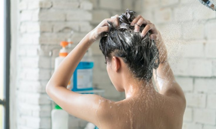 using shampoo is to remove the oils from your hair and scalp