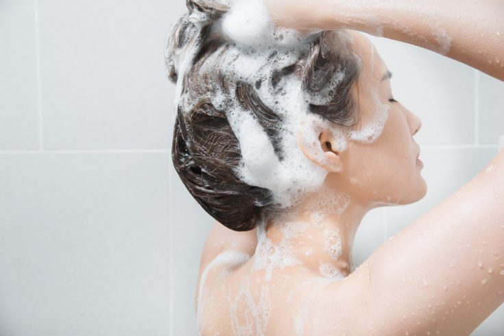 Regulate your styling products and shampoo