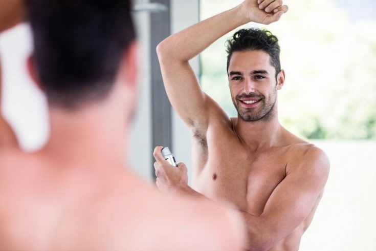 Deodorant's effect can last for up to 48 hours