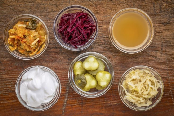 Apple cider vinegar and probiotics have many similar good health impacts