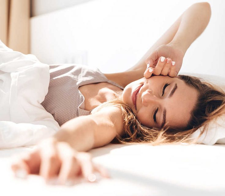 Improving your sleep patterns helps to lower the need and cravings for nicotine