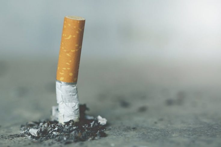 Try to quit smoking
