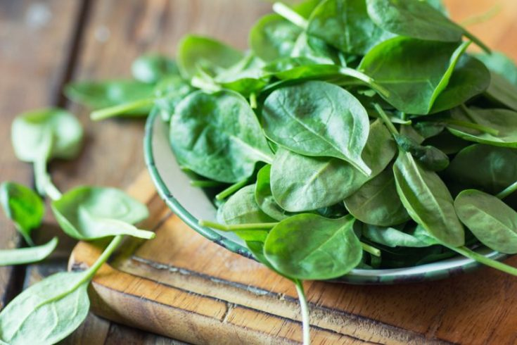 eating spinach makes tobacco taste awful