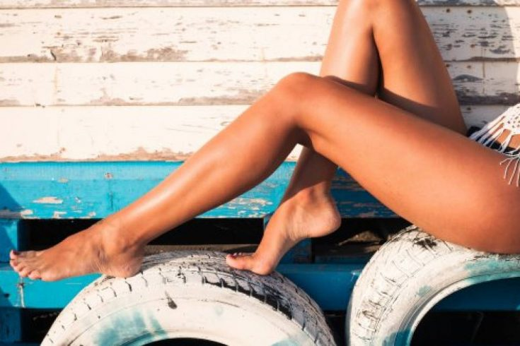 a tan indicates health, beauty, and even luxury