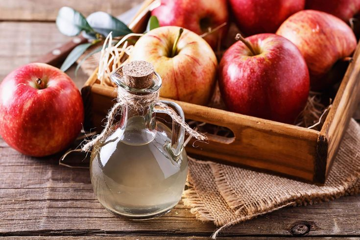 Apple cider vinegar is another effective home remedy