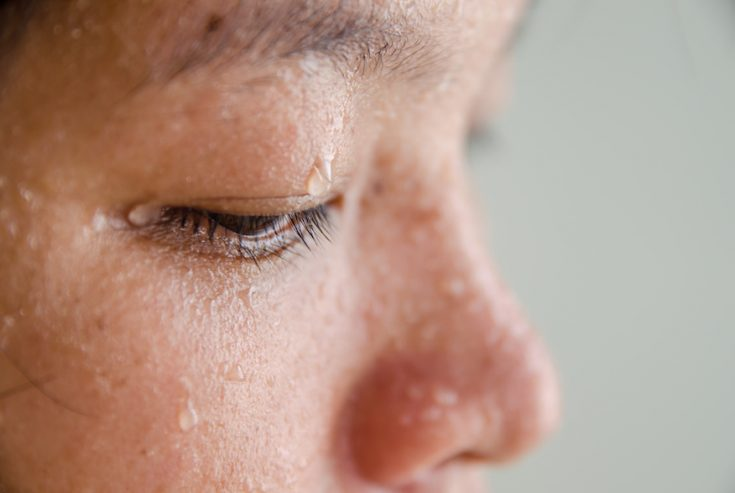 Sweating out a fever used to be considered to be useful in getting rid of chills