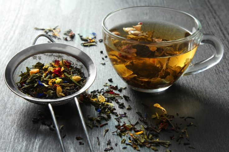 Drinking herbal tea helps control your chills