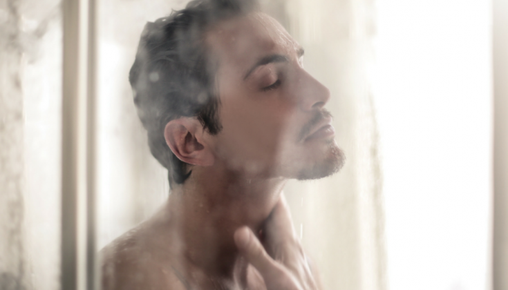 take a warm bath or shower to soothe your body in case you experience a sudden shiver