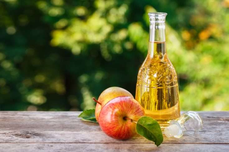 Apple cider vinegar is a good treatment