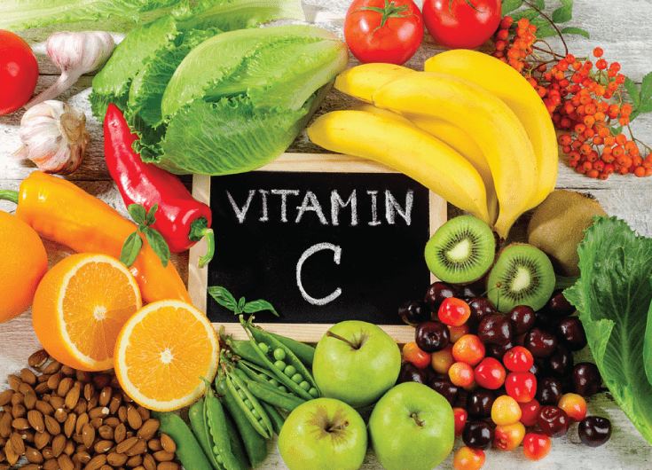 Food rich in Vitamin C