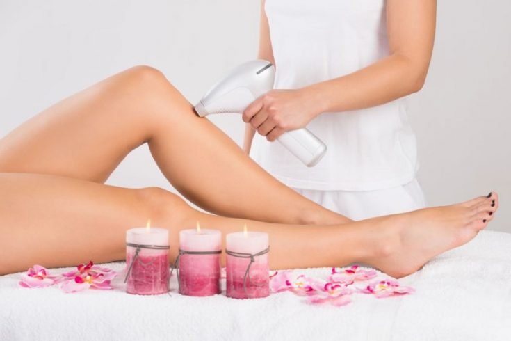 Laser hair removal is recommended for keratosis pilaris