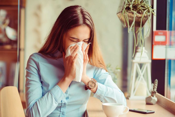 Remember to cover your mouth when sneezing or coughing